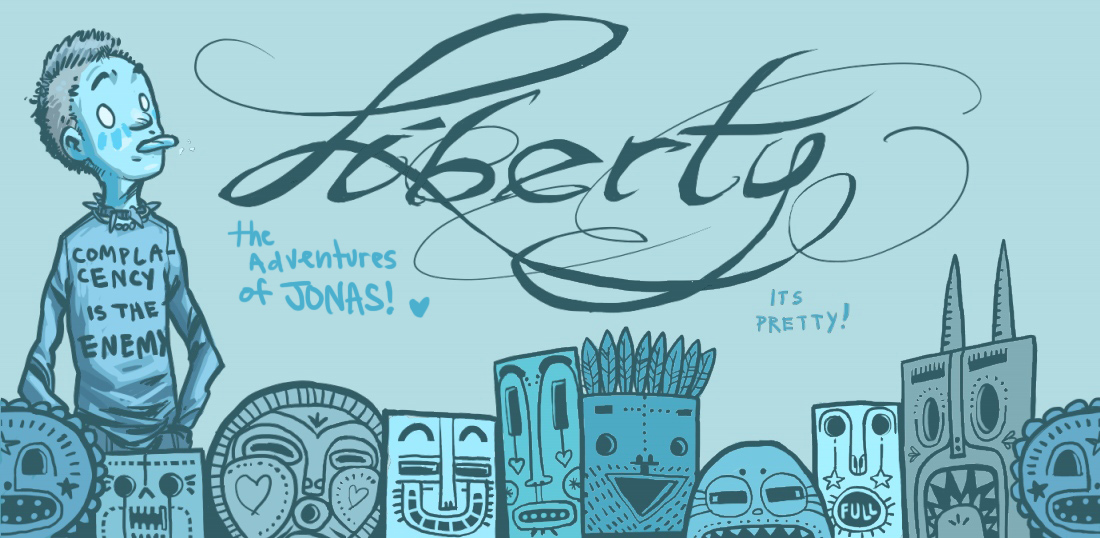 Liberty - chapter page