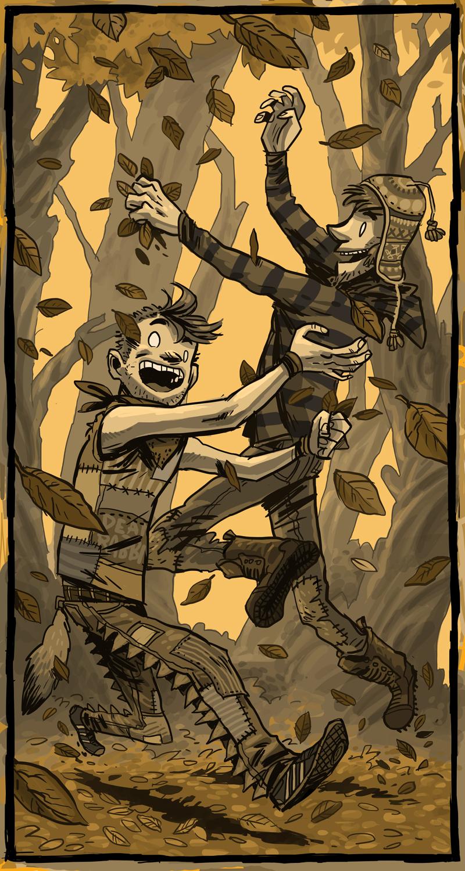 leaf catchers - BIG