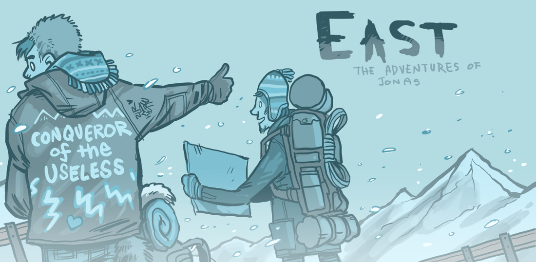 EASTBOUND - chapter page